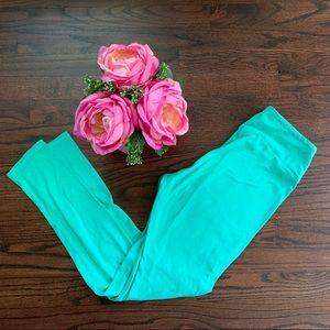 LuLaRoe Pants - ❤️ALL LULAROE 3/$15❤️🎉 Teal LLR Leggings, OS